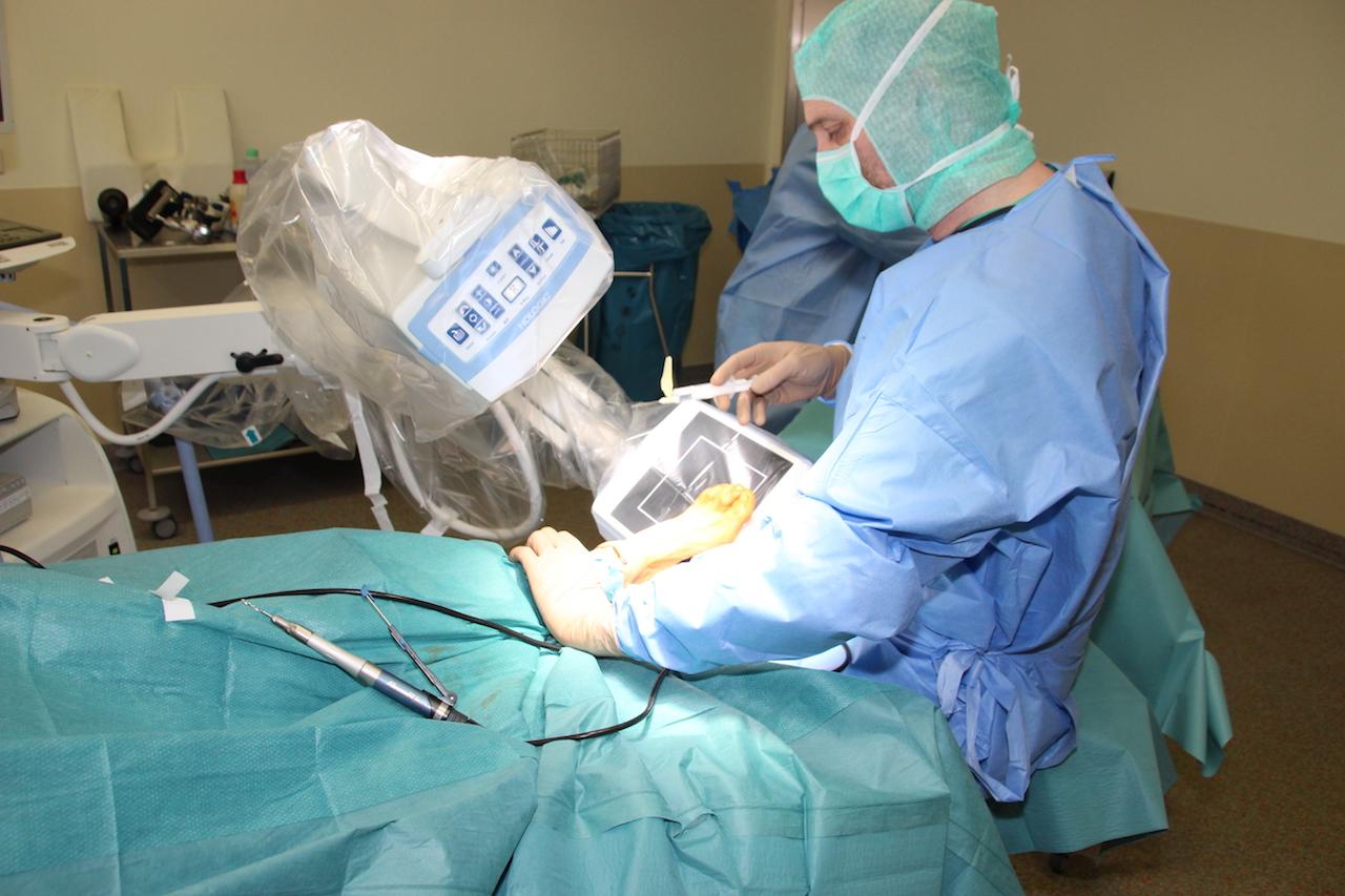 Bild aus dem Operationssaal